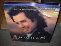 Michael / John Travolta / Andie Macdowell Laserdisc 1997 - Sealed -
