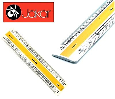 Jakar Professionelle Metrische Kunststoff Flach Oval Lineal Acryl Rule 15 Oder