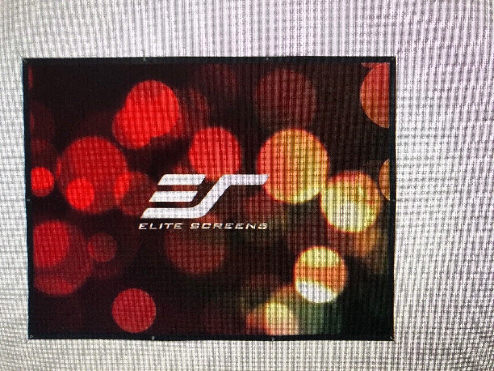 Elite Screens Outdoor DIY133H Manual Projection Screen