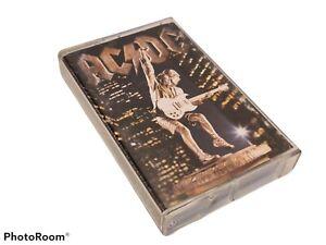AC/DC STIFF UPPER LIP ALBUM AUDIO CASSETTE TAPE K7 - ELEKTRA 7559-62494-4 RARE!!