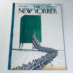 The-New-Yorker-Nov-2-1968-Arthur-Getz-Election-Day-Cover-full-magazine