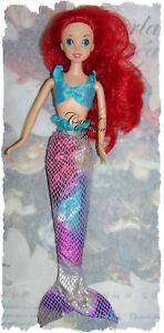 Ensemble-Petite-Sirene-Dress-Robe-Barbie-Princesse-Poupee-Mannequin-Barbie