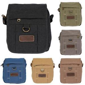 Damen-Herren-Tasche-Canvas-Umhaengetasche-Schultertasche-Crossover-Bag-Handtasche