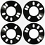 4 X 5MM SPACERS HUBCENTRIC 4X114 60.1 FIT MAZDA 626 929 RX7 PRE 1987