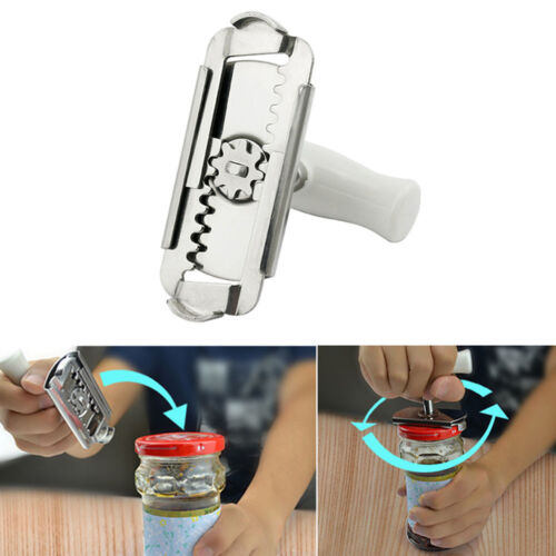 For Cans Bottle Jar Kitchen Utensils Tin Can Opener Easy Grip Opener