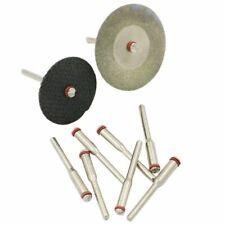 10X3.17m Steel Screw Mandrel Arbor Shank Cut-off Wheel Holder Dremel Shaft Tool