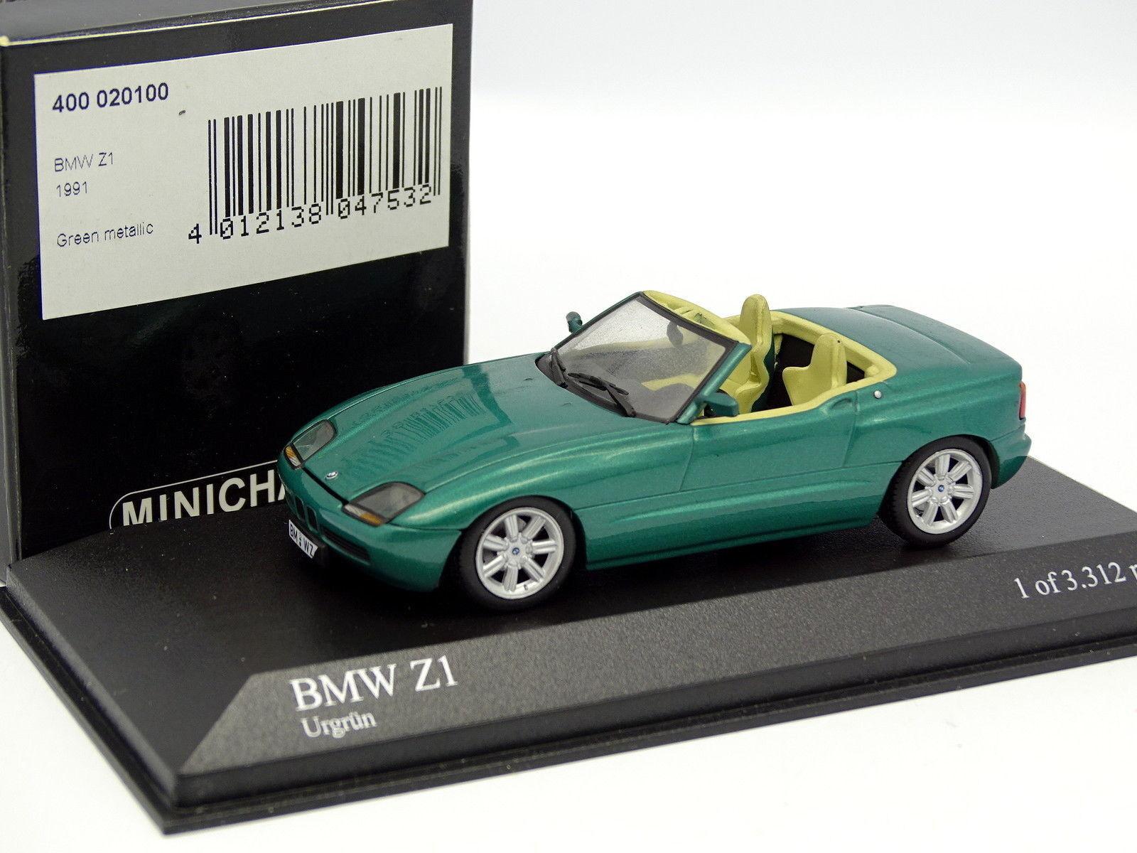 Minichamps 1 43 - bmw z1 1991 green