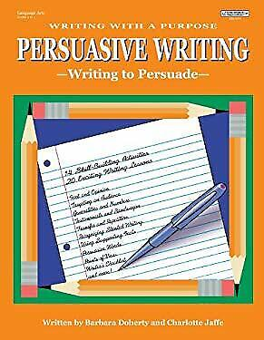 Purpose of a persuasive essay