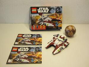 24# LEGO 75182 Star Wars Republic Fighter Tank OVP und BA nicht komplett ???