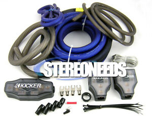 Details about Kicker PKD1 1/0 AWG Gauge Dual Car Amp Installation Wire on kicker shocks kit, kicker wiring-diagram, kicker wiring guide, kicker repair kit, kicker motor kit, kicker wiring specs, kicker amplifier, kicker mounts,