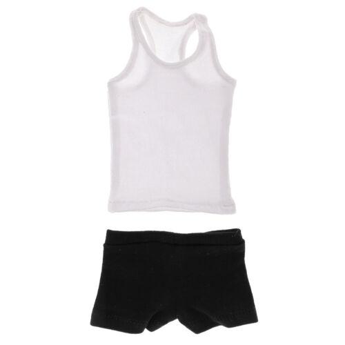 1//6 Scale Underclothes Mens Vest /& Underwear 12/'/' Male Figure Accessories