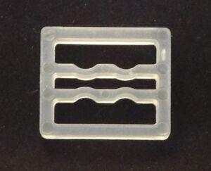 16 Qty Mini Blind Bracket Spacer Block Bracket Extension