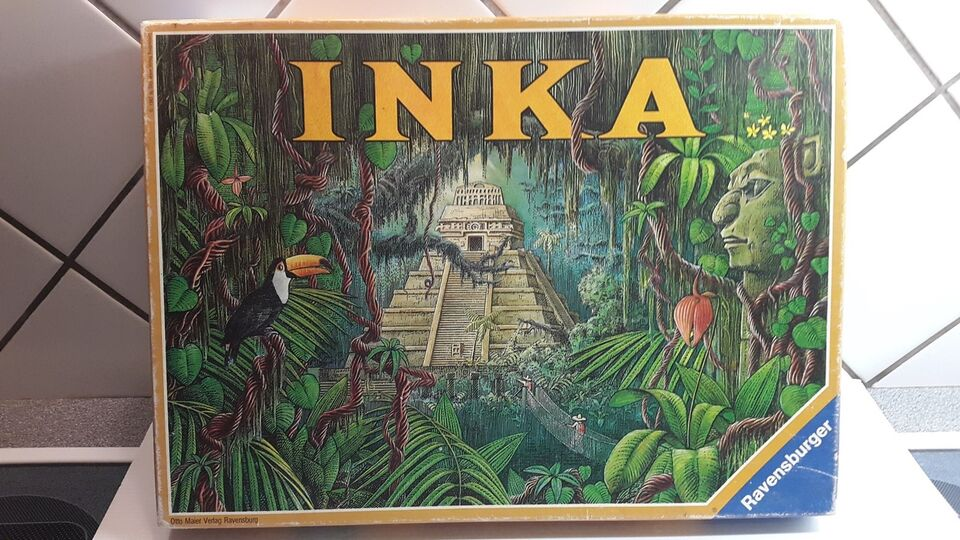 INKA FRA 1987, brætspil