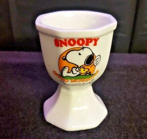 Details Zu Snoopy Egg Cup Peanuts Characters Good Morning
