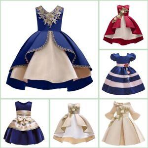 Princess-Wedding-Baby-Flower-Formal-Bridesmaid-Kid-Girl-Party-Dress-Dresses-Tutu