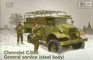 WEHRMACHT, POLISH /& RAF CHEVROLET C15A N11 CAB GENERAL SERVICE LORRY 1//72 IBG
