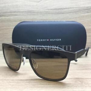 79566f42b422 Tommy Hilfiger TH 1394 S Sunglasses Matte Brown R13E9 Authentic 56mm ...