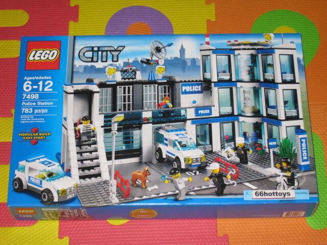 LEGO città 7498 polizia Station  nuovo  la migliore selezione di