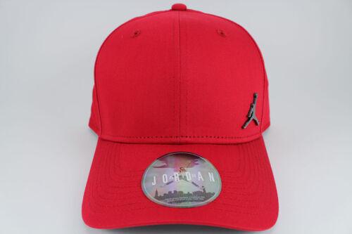 JORDAN CLASSIC 99 METAL JUMPMAN ADJUSTABLE CAP HAT RED//BLACK SNAPBACK NEW ADULT