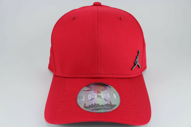 innovative design 78ba6 604df Nike Jordan Clc99 Metal Jumpman Cap Baseball Hat Adjustable Red 899657-688