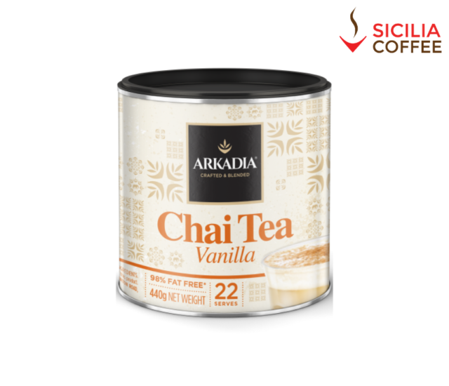 Arkadia 440g Chai Tea Vanilla - No Artificial Colours