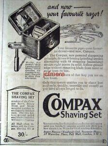 039-COMPAX-039-Safety-Razor-Shaving-Set-ADVERT-Original-Small-1924-Print-AD
