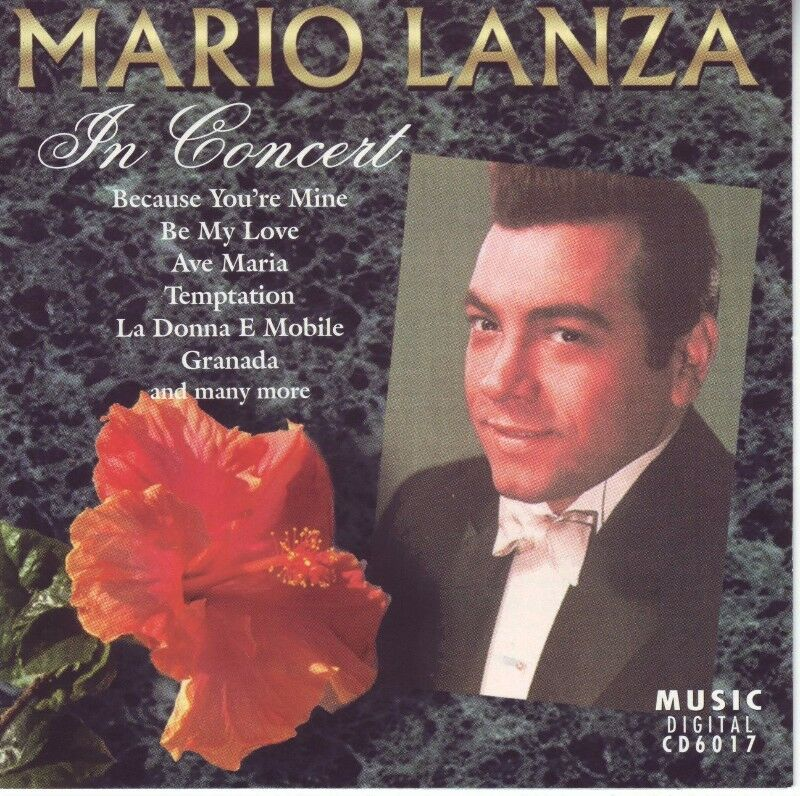 Mario Lanza - In Concert (CD) R 60 negotiable