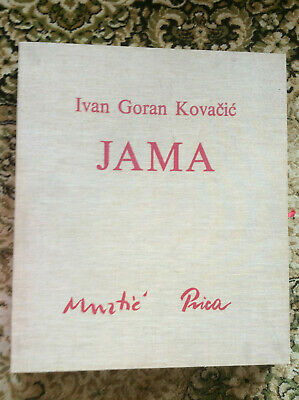 Ivan Goran Kovacic Jama Box Set Of Croatian Fine Art And Poem