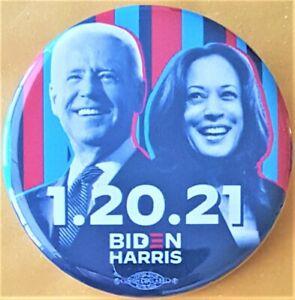 1.20.21 Joe Biden Kamala Harris campagne bouton du Minnesota Democratic Party