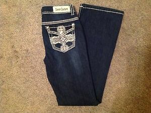 Denim-Couture-Jeans-Bootcut-Flower