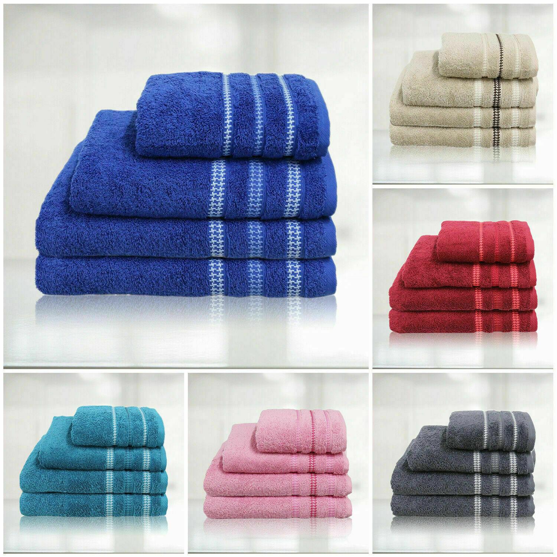 Premium Quality Egyptian Cotton Bath Hand Face Towels Bale and 600Gsm Bath Sheet