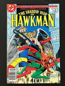 SHADOW WAR OF HAWKMAN #3 DC COMICS 1985 VF+ NEWSSTAND EDITION
