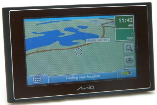 "Mio Moov 330 Car Portable GPS Navigator System 4.3/"" US Canada Puerto Rico Maps"