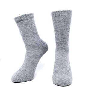 Mongolia-100-pure-Cashmere-Women-Men-Mid-Calf-Socks-Man-Woman-Wool-Solid-Color