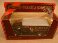 1987 Matchbox Models Of Yesteryear 1:45 Scale Y-12 1937 G.m.c. Van Goblin