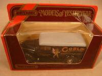 1987 Matchbox Models Of Yesteryear 1:45 Scale Y-12 1937 G.m.c. Van Goblin