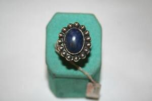 Nice Ring Kyanite Stone 54 New Very Ring Silver 70 T52 Vintage Nuovo nuovo 14Zw5nqxd