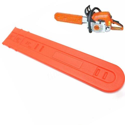 24inch Chainsaw Bar Protect Cover Scabbard Guard For Stihl//Husqvarna 038 044//046