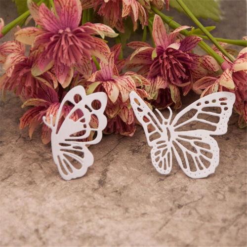 die Schmetterlings Schneide Formen prägen Stencil Scrapbooki FBB Bastel Karten