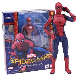 Shfiguarts-Variante-Spider-Man-Heimkehr-Variable-PVC-Action-Figur-Modell-Spielzeug