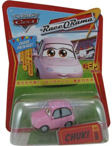 Chase-RACE O RAMA DISNEY CARS 1 2 3 Moulé Sous Pression 1:55 CHUKI #90 UK!