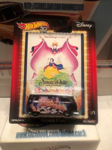 Snow White Disney  Pop Culture Q Case 2018 Hot Wheels Volkswagen T1 Panel