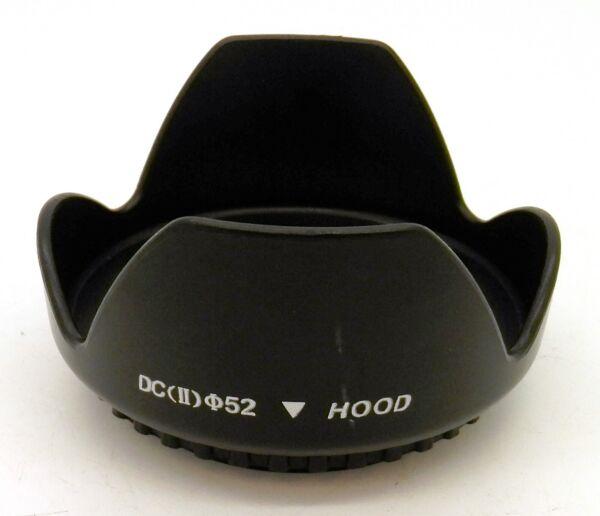 Dc Ii 52 Mm Vis Mont Fleur Pétale Caméra Lens Hood #4460 Avec Le Meilleur Service