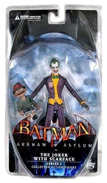 Batman arkham asylum dc direkt den joker mit 6 - zoll - figur  scarface