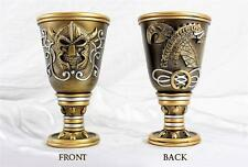 Medieval VIKING Warrior Drinking Goblet with Sea Serpent - cup/glass/chalice NEW
