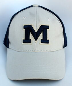 best website acc80 4d24c Image is loading NCAA-MICHIGAN-WOLVERINES-One-SIze-Stretch-Fit-TOP-