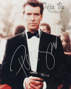 Fast Deliver Pierce Brosnan Autograph -signed Photo- Goldeneye Coa Die Another Day Vf