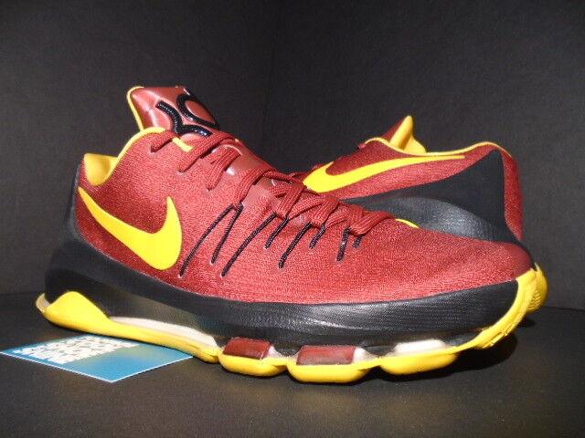Nike kevin durant kd viii 8 usc troiani pe campione d'oro nero - rosso cremisi