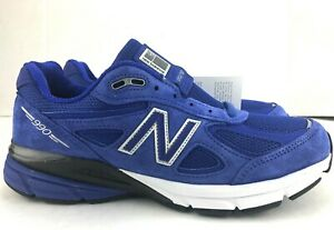 New Balance 990v4 Running Shoes Royal