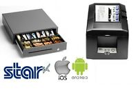 Tsp654iibi2-24 Star Bluetooth Printer & Star Cash Drawer Bundle